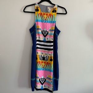 Mara Hoffman Womens Size 4 Sheath Dress Sleeveless